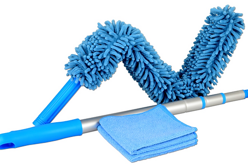 High Reach Microfiber Cleaning Kit