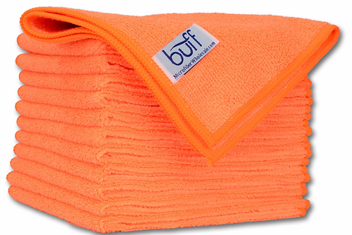 12x12 Multi Surface Cleaning Cloth Orange