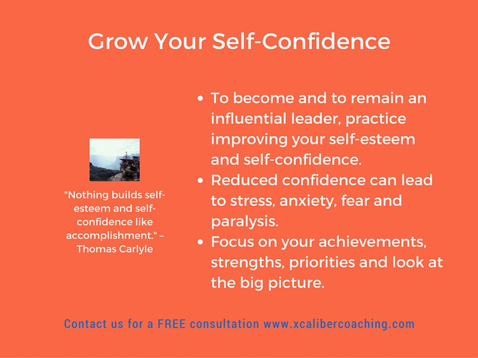 Grow Your Self-Confidence