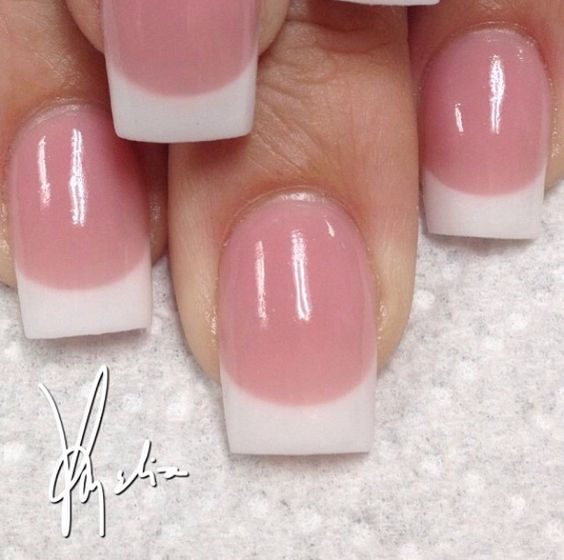 Pink and White Back fill