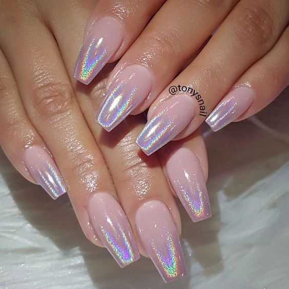 Gel or Pink Powder Fill
