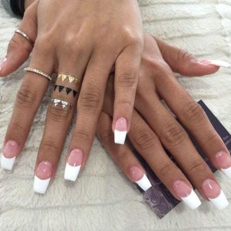Pink & White Fullset