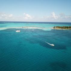 Acuario y Haynes Cay