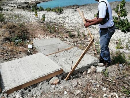 CORALINA toma acciones contra construcciones en baja mar