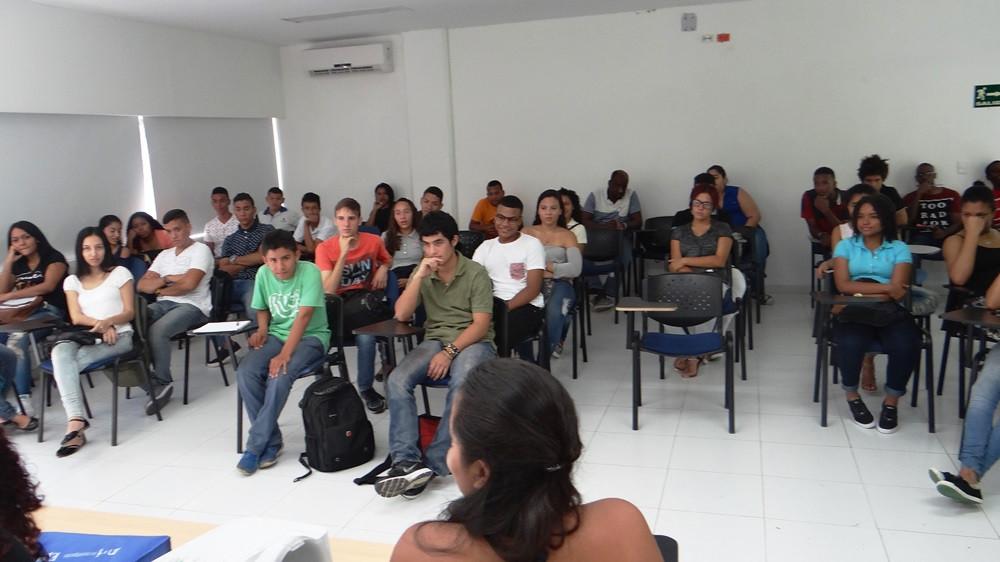 Estudiantes PEAMA Primer Semestre del 2017. Foto Prensa UNAL Sede Caribe
