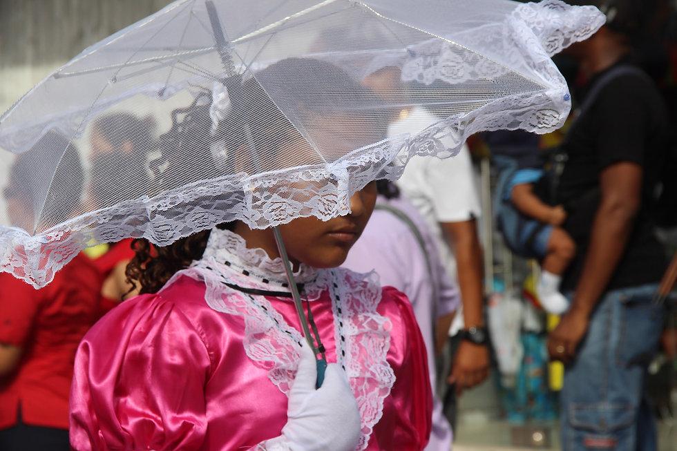 Vestido típico de San Andrés y Providenc