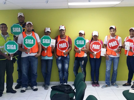 Campaña de Educación Vial en San Andrés