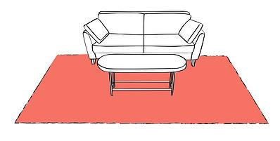 prova divano con tappeto, tessuti genova, tende genova, tendaggi genova, mantovana genova, tappeti patchwork genova