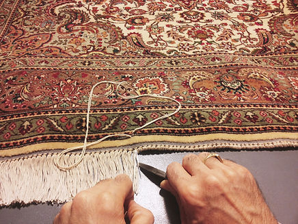 restauro frange tappeti