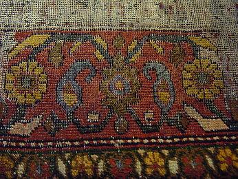 tappeto bordo rifatto