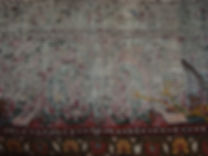 tappeto bordo rovinato