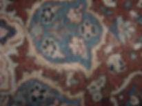 tappeto messo a posto