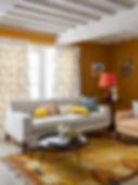 giallo, sole, colore giallo, arredamento giallo, design, stile, salotto elegante per l'estate, design di interni a genova, colori per l'estate