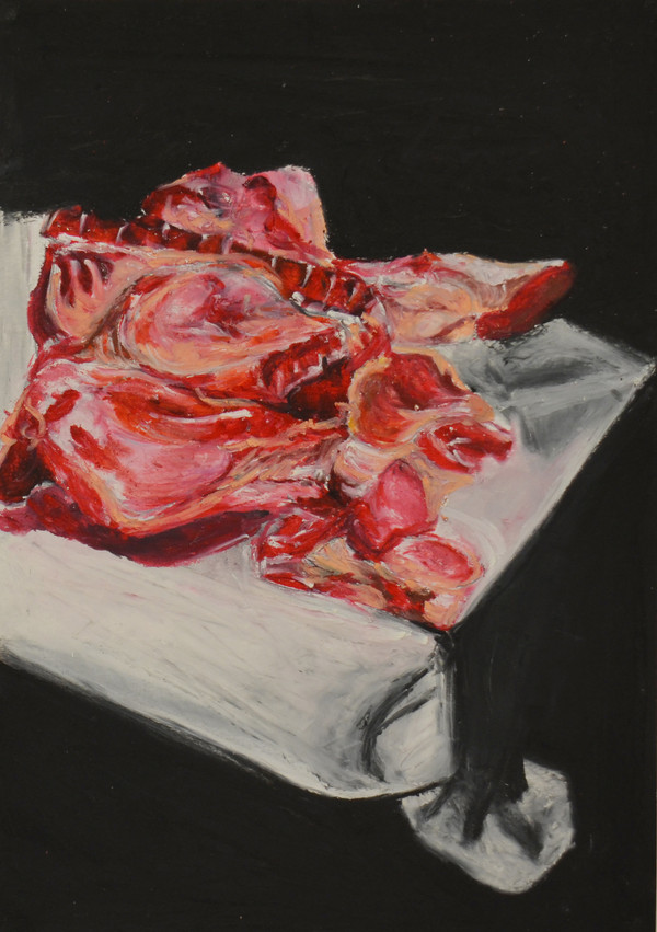 Still life of meat