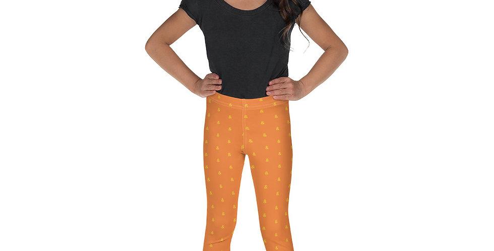 Child Leggings - Orange
