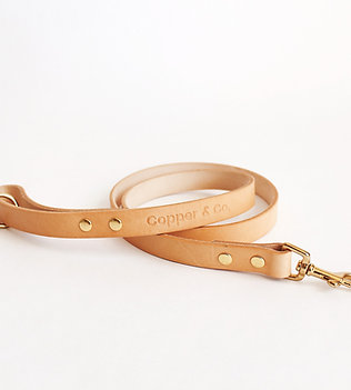 Natural Leather Lead