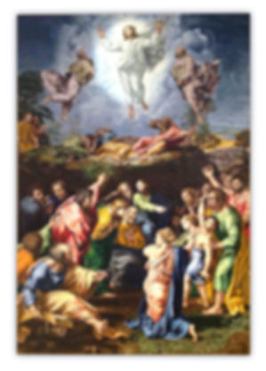 Mosaic Reproduction Transfiguration by Raphael