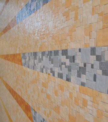 Decorazione Murale in mosaico Cattedrale Our Lady