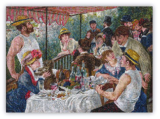 Luncheon of the Boating Party Renoir Mosaic Reproduction