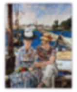 Argenteuil Manet Mosaic Reproduction