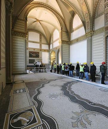 Restauro antico in mosaico e terrazzo veneziano