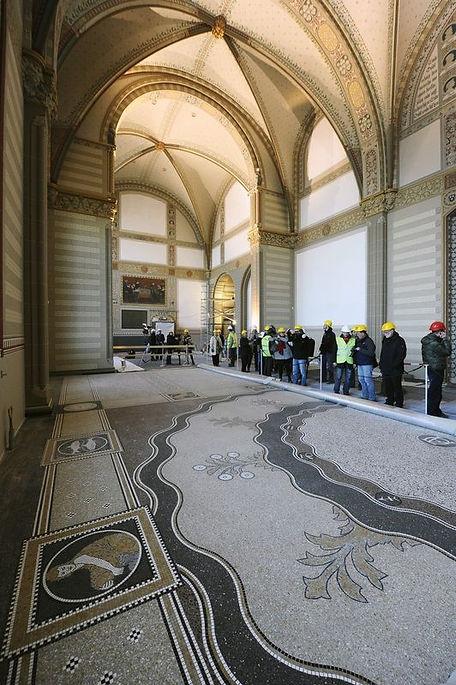Rijksmuseum Terrazzo Veneziano and Mosaic Renovatin