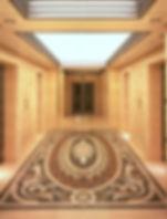 Decorative Mosaic and Venetian Terrace Floor