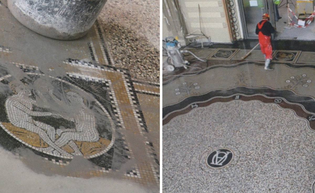 Mosaic and Venetian Terrace Renovati