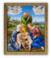 Mosaic Reproduction Cangiani Holy Family by Raphael