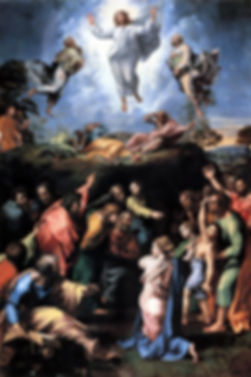 Transfiguration original painting by Raphael
