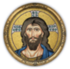 Mosaic Reproduction Christ Pantocrator