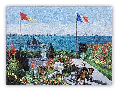 Monet Riproduzione Artistica in Mosaico