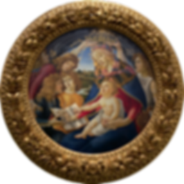 Madonna Magnificat Botticelli