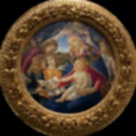 Dipinto Madonna Magnificat Botticelli