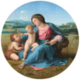 Alba Madonna original painting
