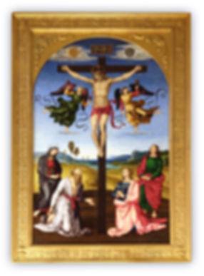 Mosaic Reproduction Mond Crucifixion Raphael