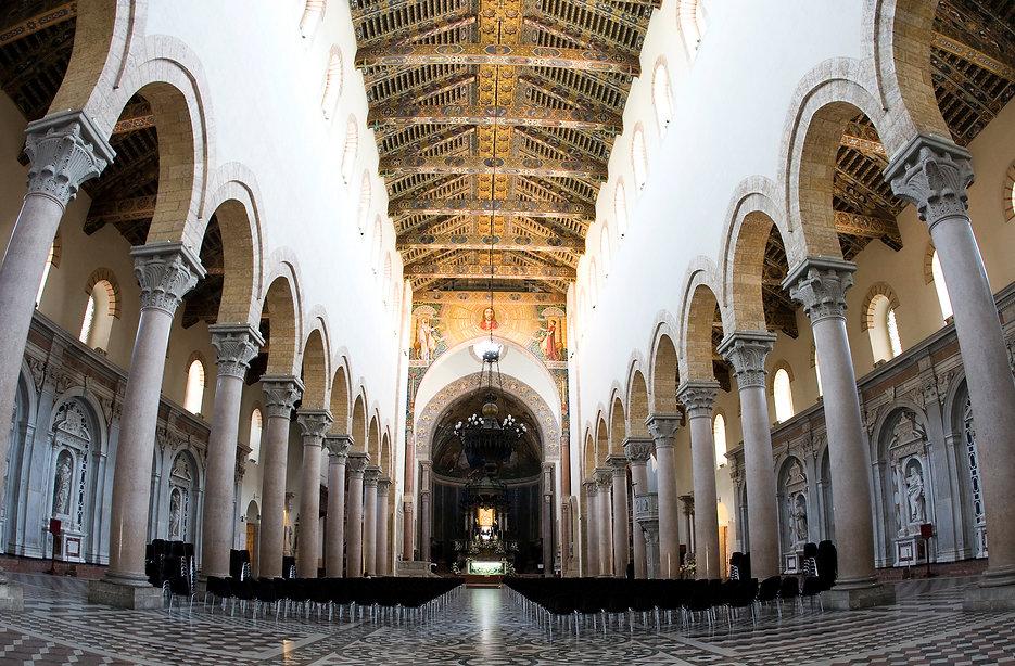 Riproduzione in Mosaico su Schizzo originale di Sartorio per il Duomo di Messina