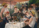 original Painting Luncheon of the Boating Party by Renoir