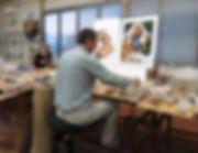 Team Atelier Lenarduzzi Hand Made in Italy Mosaic
