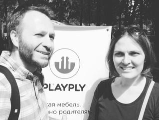 10 июля 2016 г. Роман Раух совместно с Марией Карасик (PLAYPLY) выступили с лекцией на семейном фест