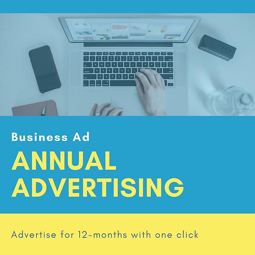 Annual Ads ($150-500)