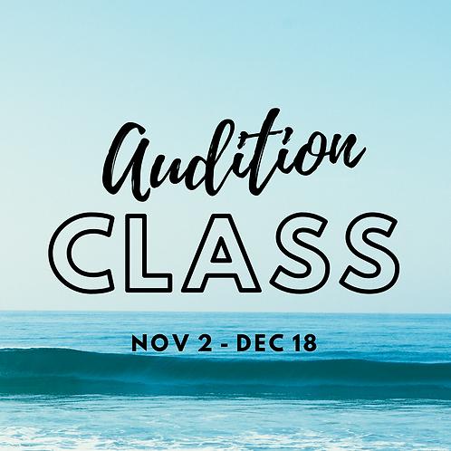 Auditions Class (Grades K-12)