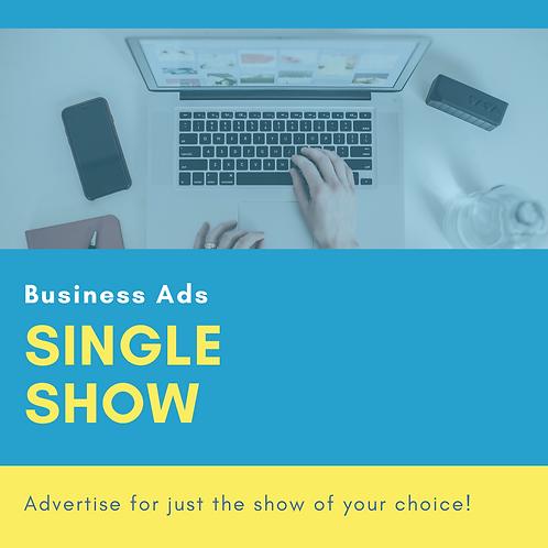 Single Show Ad ($50-100)
