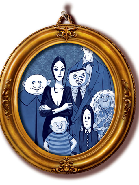 Addams Family Participant Pack