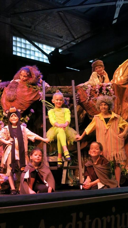 (Peter Pan) Tink and her Lost Boys