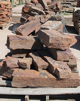 mossy square brick
