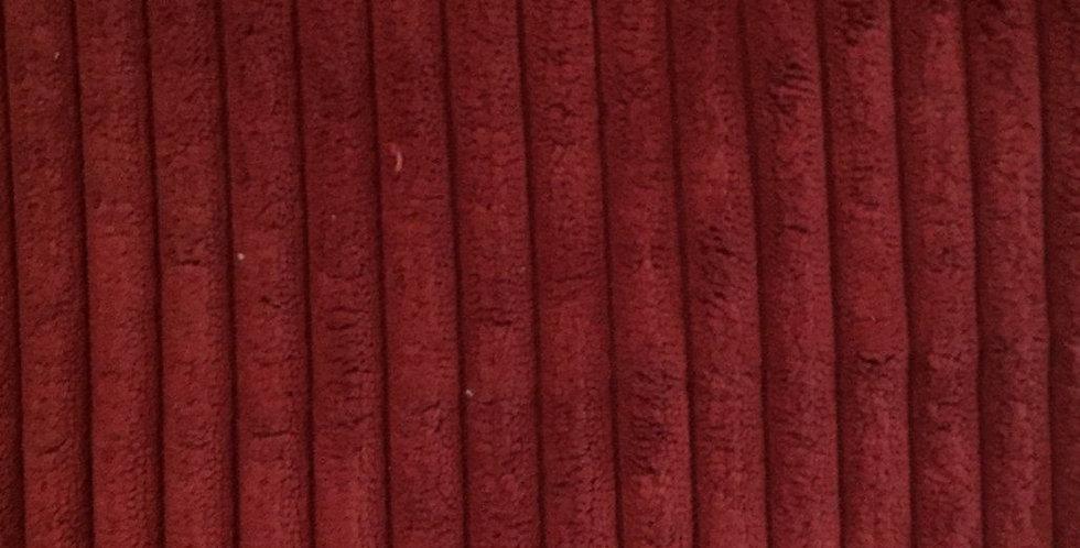 Soft Textured Red Stripe