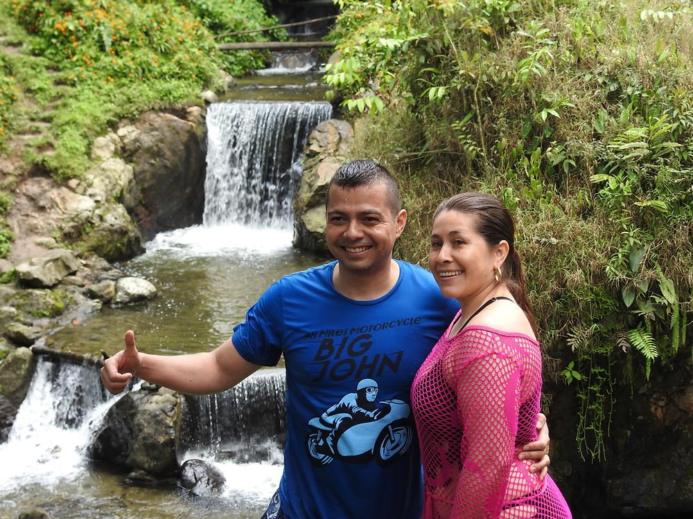 Sendero ecológico de charcos y cascadas - Hotel Cabañas JC Reserva Natural en Santa Rosa de Cabal