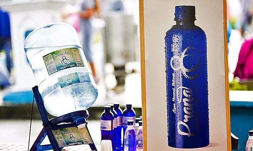 Prana Azul: Agua Mineral Natural
