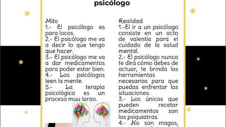 Mitos acerca de ir al psicólogo
